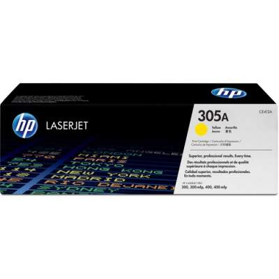 HP 305A Yellow Original LaserJet Toner Cartridge for US Government (CE412AG)