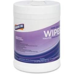 Genuine Joe Lemon Scent Hand Sanitizing Wipes (14144EA)