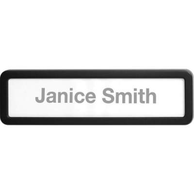 Lorell Recycled Plastic Cubicle Nameplate (80669)