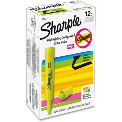 Sharpie SmearGuard Tank Style Highlighters (25053)