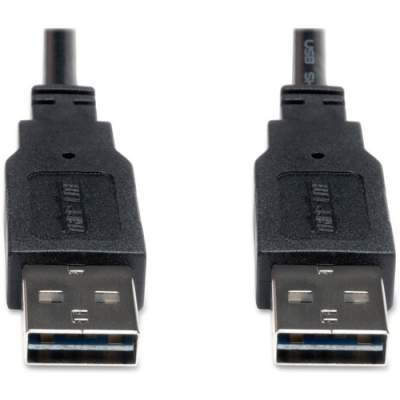 Tripp Lite 6ft USB 2.0 High Speed Reversible Connector Cable Universal M/M (UR020-006)