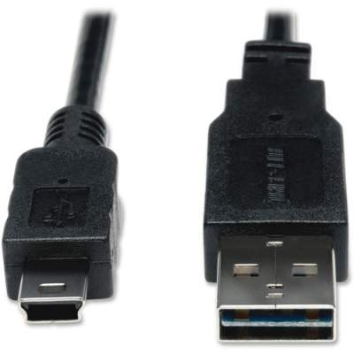 Tripp Lite 6ft USB 2.0 High Speed Cable Reversible A to 5Pin Mini B M/M (UR030-006)