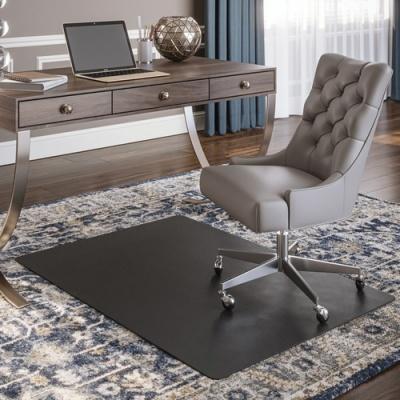 Deflecto Black Economat for Carpet (CM11242BLK)