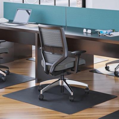 Deflecto Black EconoMat for Hard Floors (CM21442FBLK)