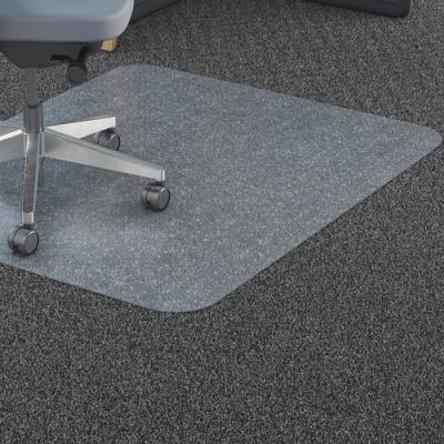 Lorell Polycarbonate Rectangular Studded Chairmats (69703)