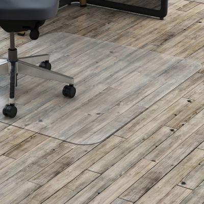 Lorell Hard Floor Rectangler Polycarbonate Chairmat (69708)