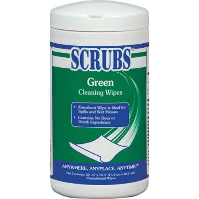 ITW Pro Brands SCRUBS Green Cleaning Wipes (91856)
