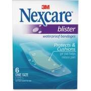 Nexcare Blister Waterproof Bandages - 1 Size (BWB06)