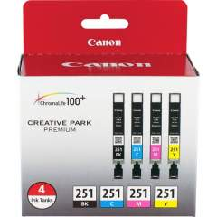 Canon CLI-251 Original Ink Cartridge (CLI251BCMY)