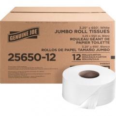 Genuine Joe 2-ply Jumbo Roll Dispenser Bath Tissue (2565012)