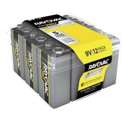 Rayovac Ultra Pro Alkaline 9 Volt Batteries 12-Pack (AL9V12PPJ)