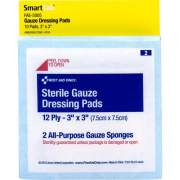 First Aid Only Sterile Gauze Dressing Pads (FAE5005)