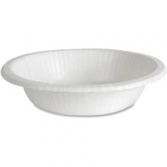 Dixie Basic Lightweight Disposable Paper Bowls by GP Pro (DBB12WPK)