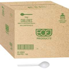 """Eco-Products 7"""" PSM Spoons (EPS003CT)"""