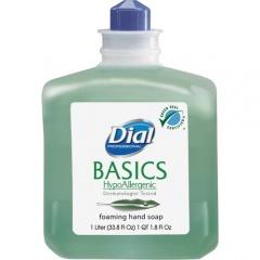 Dial Basics HypoAllergenic Foam Soap Refill (06060)