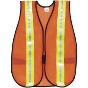MCR Safety Crews Reflective Fluorescent Safety Vest (CRWV201R)