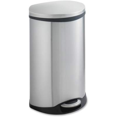 Safco Ellipse Step On Can Waste Receptacle (9903SS)