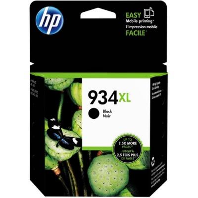 HP 934XL High Yield Black Original Ink Cartridge (C2P23AN)
