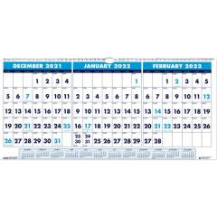 House of Doolittle 3-month Horizontal Wall Calendar (3648)