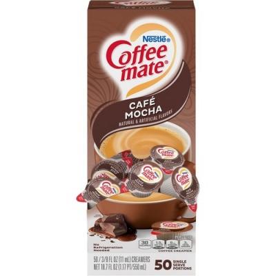 Nestle Professional Nestle Coffee-mate Coffee Creamer Cafe Mocha - liquid creamer singles (35115)