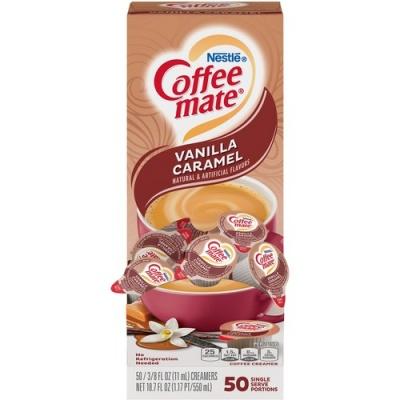 Nestle Professional Nestle Coffee-mate Coffee Creamer Vanilla Caramel - liquid creamer singles (79129)