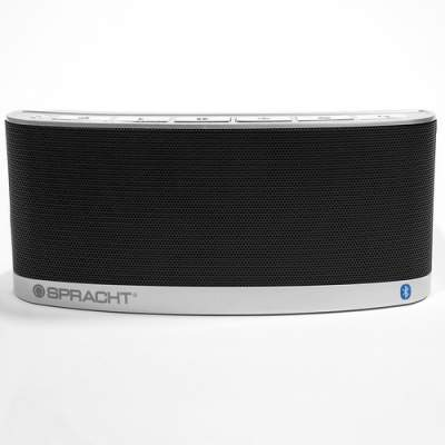 Spracht Blunote2.0 Portable Bluetooth Speaker System - 10 W RMS - Black (WS-4014)
