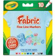 Crayola Bright Fabric Markers (588626)
