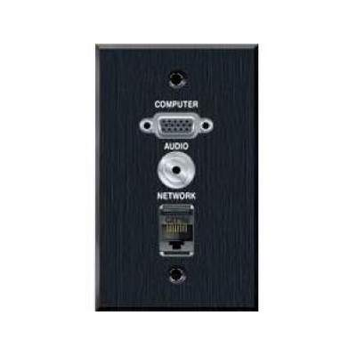 Avteq Wall Plate - Vga With 3.5mm And Rj45 Pas (WP-VGAAUDIORJ45)
