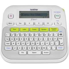 Brother P-Touch PT-D210 Label Maker - Thermal Transfer - Monochrome - Desktop