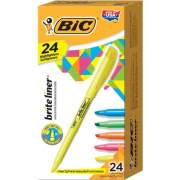 BIC Brite Liner Highlighters (BL241AST)