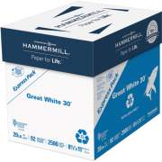International Paper Hammermill Paper for Copy Laser Copy & Multipurpose Paper - White - Recycled - 30% (67780)