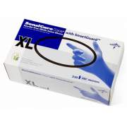 Medline SensiCare Ice Blue Nitrile Exam Gloves (MDS6804)