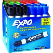 EXPO Low-Odor Dry Erase Chisel Tip Markers (1921061)