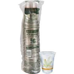Solo Bare Eco-Forward RPET Clear Cold Cups (RTP16DBAREPK)