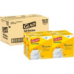 Glad ForceFlex Tall Kitchen Drawstring Trash Bags (78526CT)