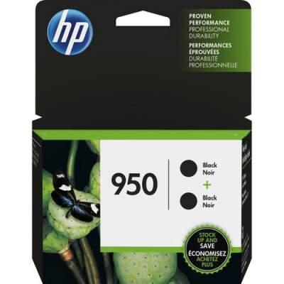 HP 950 2-pack Black Original Ink Cartridges (L0S28AN)