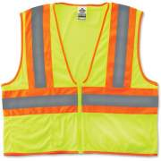 Tenacious Holdings GloWear Class 2 Two-tone Lime Vest (21295)