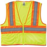 Tenacious Holdings GloWear Class 2 Two-tone Lime Vest (21297)