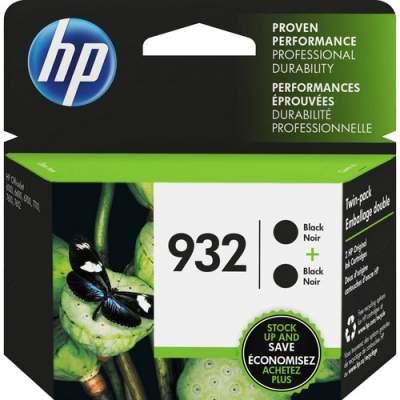 HP 932 2-pack Black Original Ink Cartridges (L0S27AN)