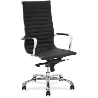 Lorell Modern Chair Series High-back Leather Chair (59537)