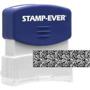 Stamp-Ever Pre-inked Security Block Stamp (8866)