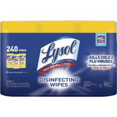LYSOL Lemon/Lime Disinfecting Wipes (84251CT)