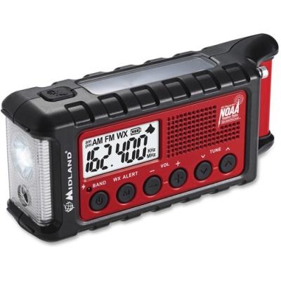 Midland Radio Corporation Midland ER310 E+Ready Emergency Crank Weather Radio