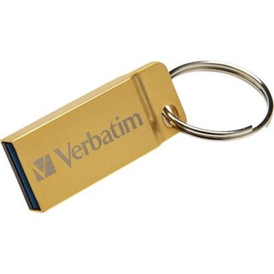 Verbatim 64GB Metal Executive USB 3.0 Flash Drive - Gold (99106)