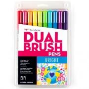 Tombow Dual Brush Art Pen 10-piece Set - Bright Colors (56185)