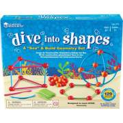Learning Resources Dive Shapes Sea/Build Geometry Set (1773)