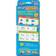 Trend Wipe-Off Alphabet Shapes Bingo Game (6601)