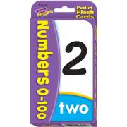 Trend Numbers 0-100 Flash Cards (23040)