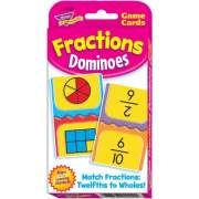 Trend Fractions Dominoes Challenge Cards Game (24009)