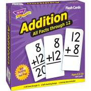 Trend Addition all facts through 12 Flash Cards (53201)